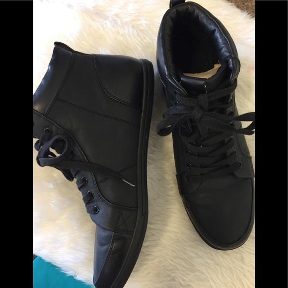 Aldo Shoes   Aldo Men Black High Top